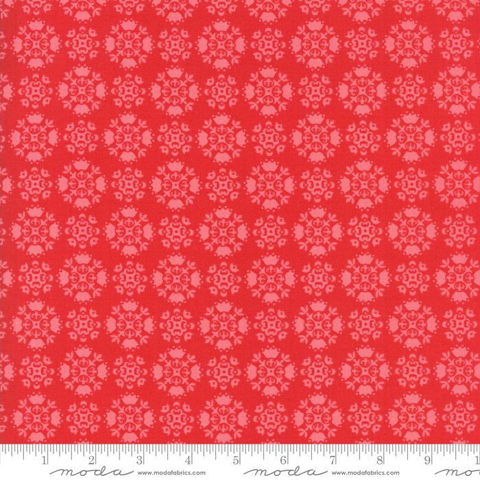 Mama's Cottage by April Rosenthal - Floral - Red - Moda 24053 11