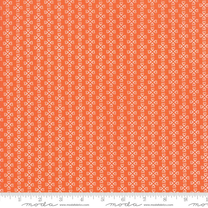 Mama's Cottage by April Rosenthal - Floral - Orange - Moda 24055 31