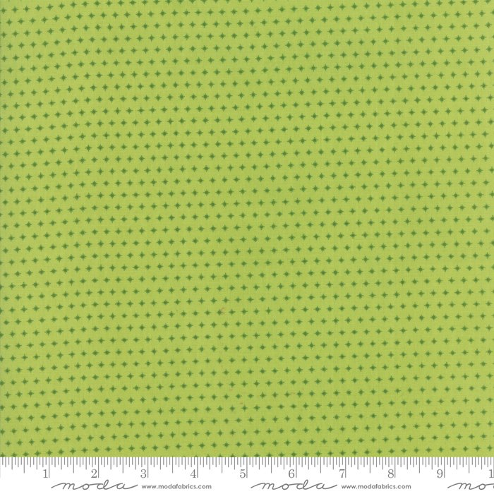 Mama's Cottage by April Rosenthal - Sparkle - Lime - Moda 24057 23