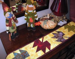 Falling Leaves - Mini Table Runner/Wall Hanging Pattern