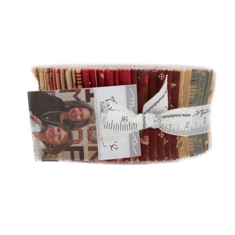 At Home by Blackbird Designs - Jelly Roll - Moda - 2790JR