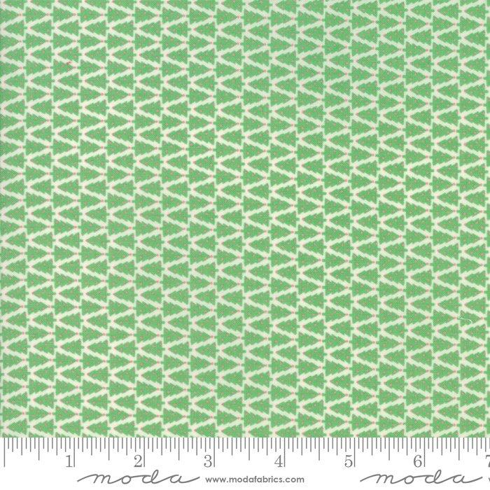 Swell Christmas by Urban Chiks - O Christmas Tree - Natural/Green - Moda 31125 11
