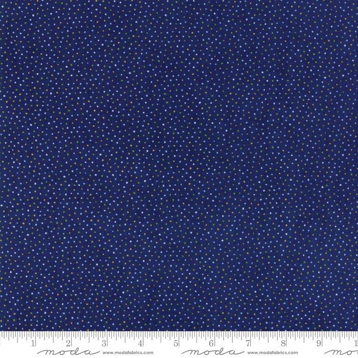 Summer Breeze V by Sentimental Studios - Floral Seeds - Dark Blue  - Moda 33307 19