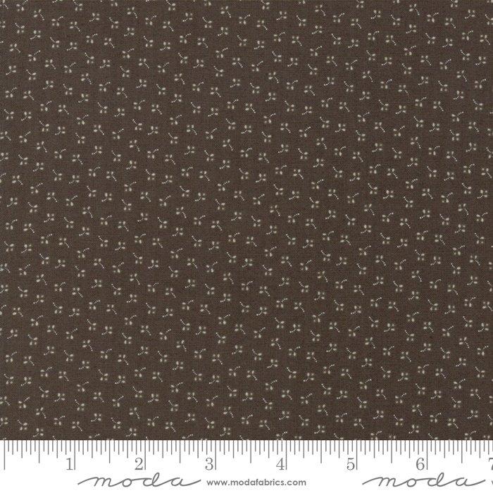 Jo's Shirtings by Jo Morton - Tossed Bud - Charcoal  - Moda 38042 17FQ - Fat Quarter