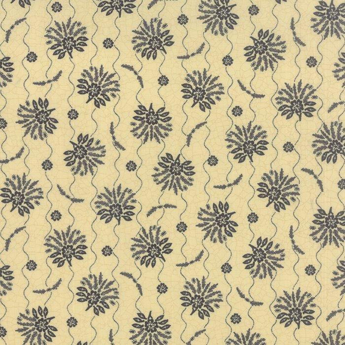 Sturbridge by Kathy Schmitz - Floral Spray Cream w/Navy - Moda 6071 15