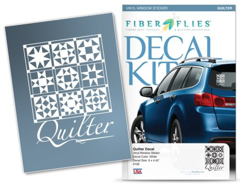 Window Decal - Quilter