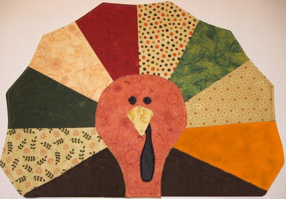 Gobble Gobble Turkey Placemat