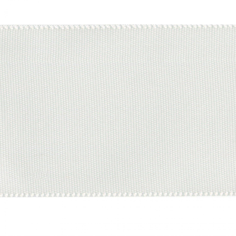 Single Face Satin Ribbon White1-1/2in