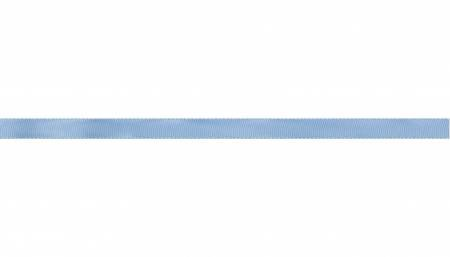 Ribbon, SingleFace Satin 1/4 , Light Blue
