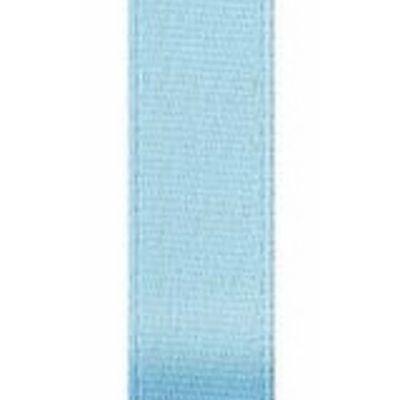 Ribbon, SingleFace Satin 5/8 Light Blue