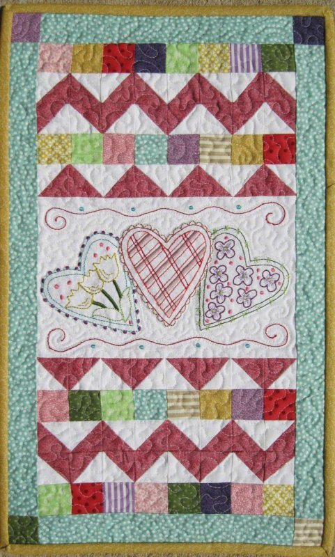 Loverly Machine Embroidery Pattern & CD