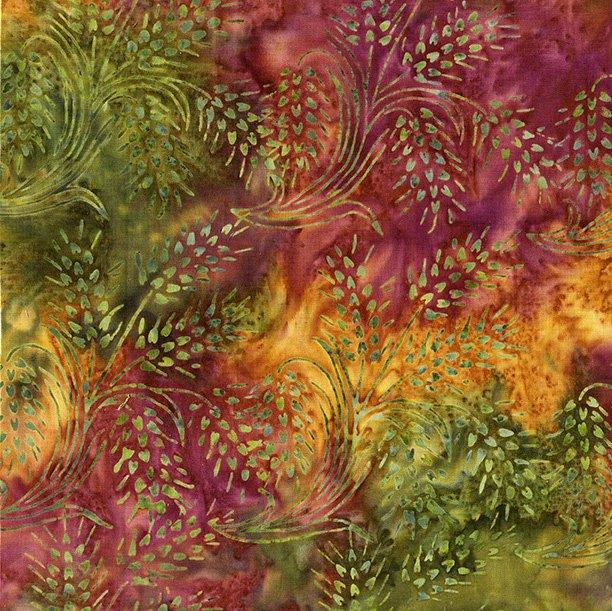 Island Batik 121715895 Plum Delicious Wheat-Fall Fusion