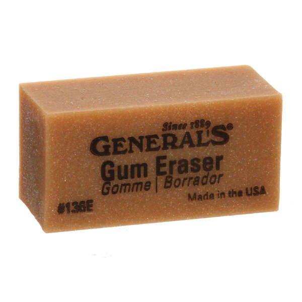 Gum Eraser 2in x 1in