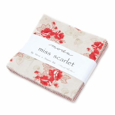 Moda - Miss Scarlet Charm Pack Precuts