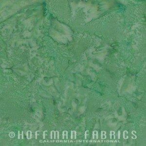 Hoffman Batik 1895-211 Green Tea