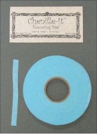 Chenille-It Blooming Bias 3/8 - Bahama Blue