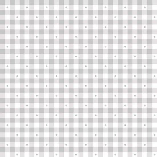 QT Sorbets 23691-K Soft Gray Gingham
