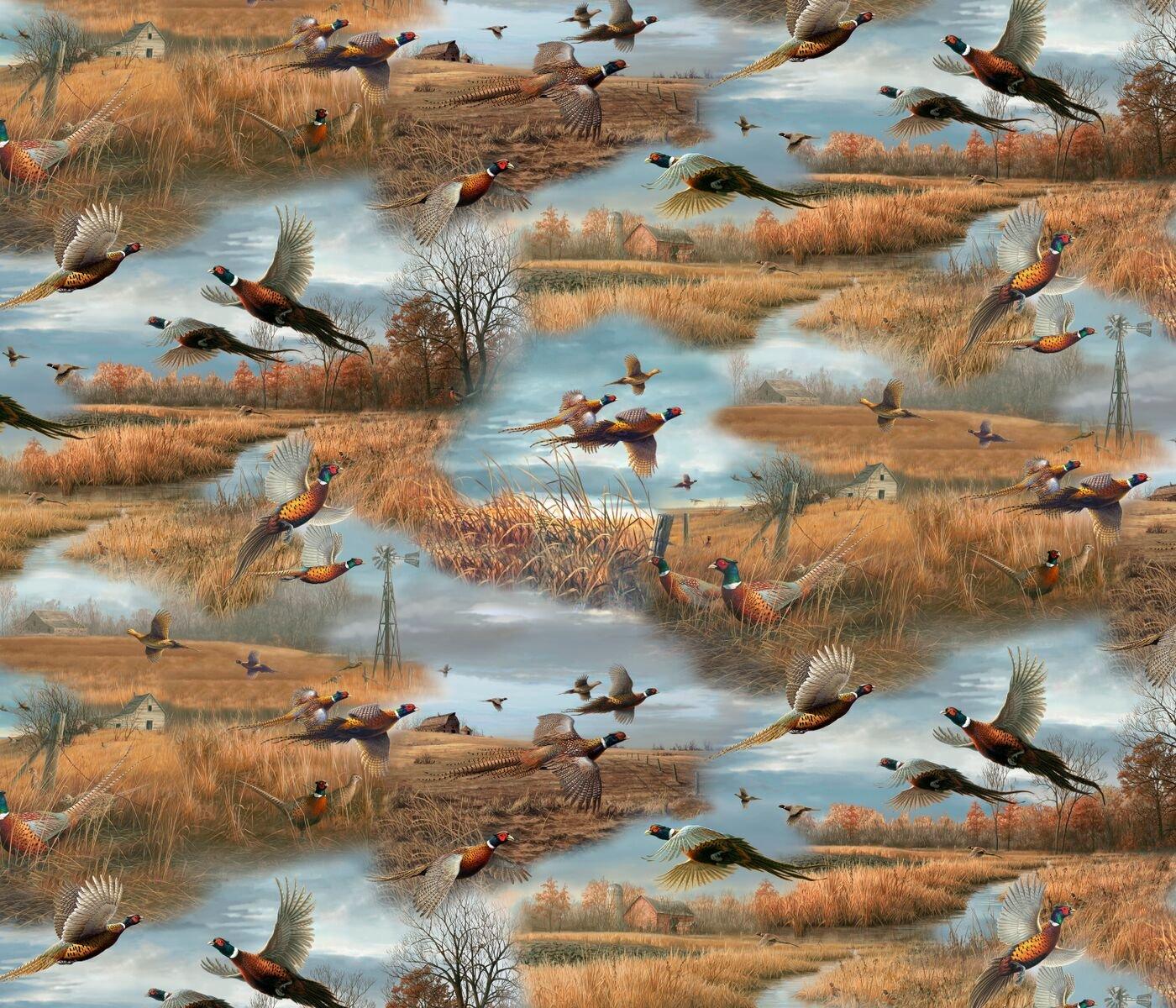 QT - Wild Pheasants 24532-X