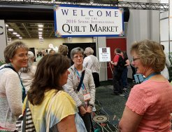International Quilt Market sign