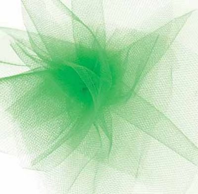 Tulle 6, Kelly Green Ribbon