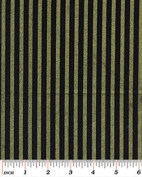 Kanvas Studio - Shirting Stripe - Black/Gold