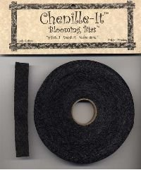 Chenille-It Blooming Bias 5/8 - Black