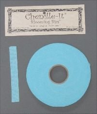 Chenille-It Blooming Bias 5/8 - Bahama Blue