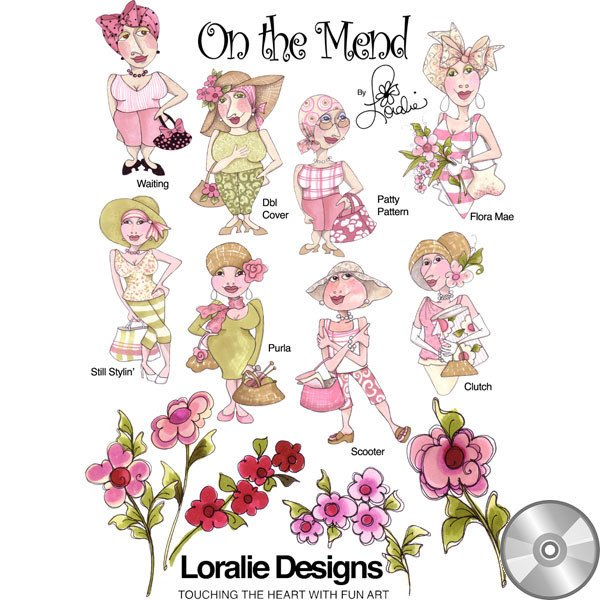 On the Mend II Embroidery CD