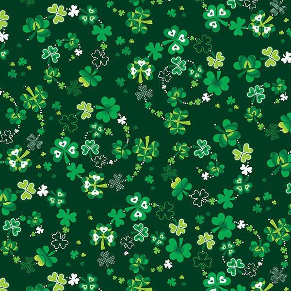 Bourbon Street - Green Lucky Clover