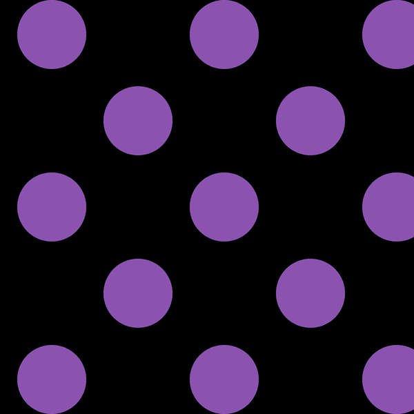 Maywood - Mind Your Mummy MAS8216-JV Black/Purple 1in Dots