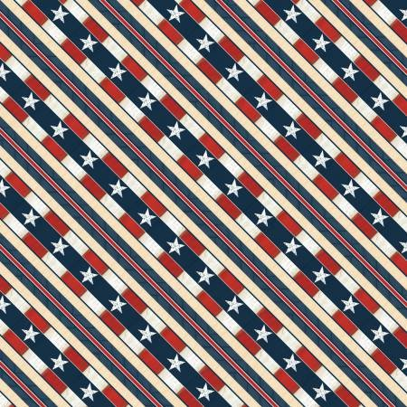 Wilmington - Heritage 84406-134 Multi Ticking Stripe