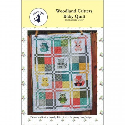 Woodland Critters Baby Quilt Pattern