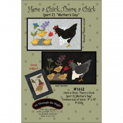 Here A Chick There A Chick Pattern (Part 2)