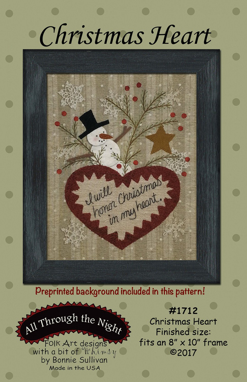 Christmas Heart Pattern