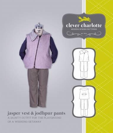 Jasper Vest & Jodhpur Pants Pattern
