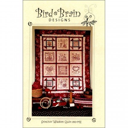 Stitchin' Wisdom Quilt Embroidery CD