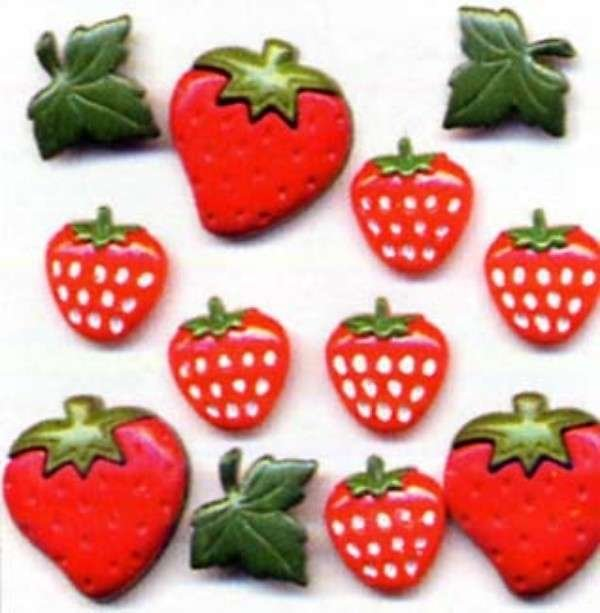 Strawberry Fields Buttons