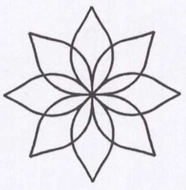 Stencil - Continuous Flower