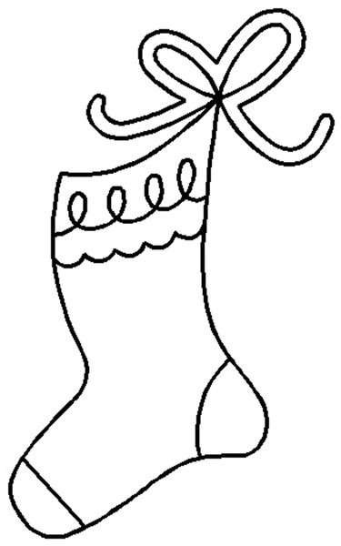 Stencil - Christmas Stocking
