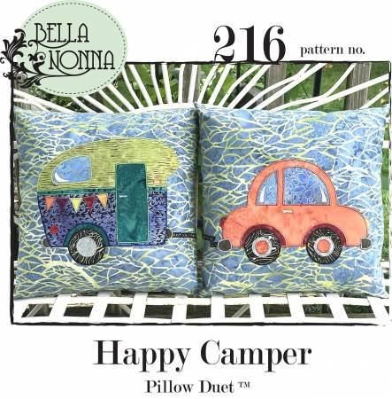 Happy Camper Pillow Duet Pattern