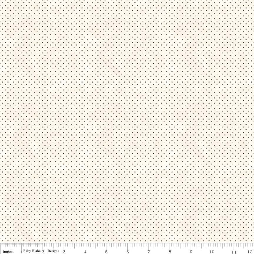 Riley Blake - 19th Century Shirtings C280-90 Brown