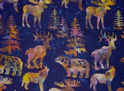 Hoffman Batiks - C362-128 Midnight