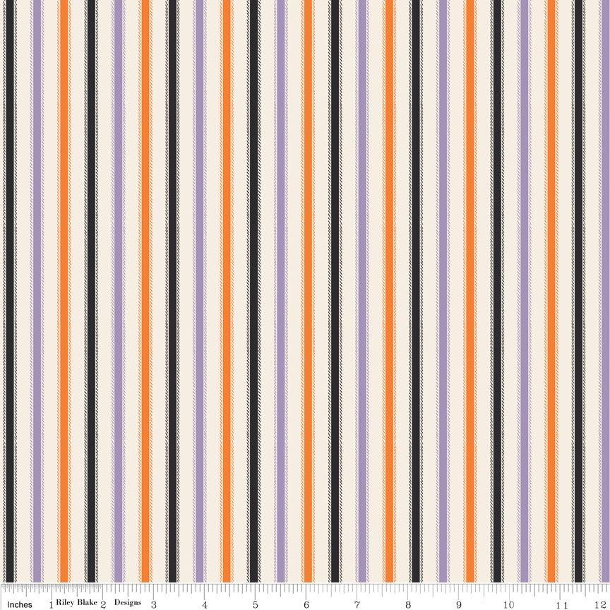 Riley Blake - Happy Haunting C4674-Purple