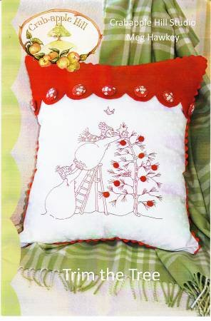 Trim The Tree Pillow Pattern