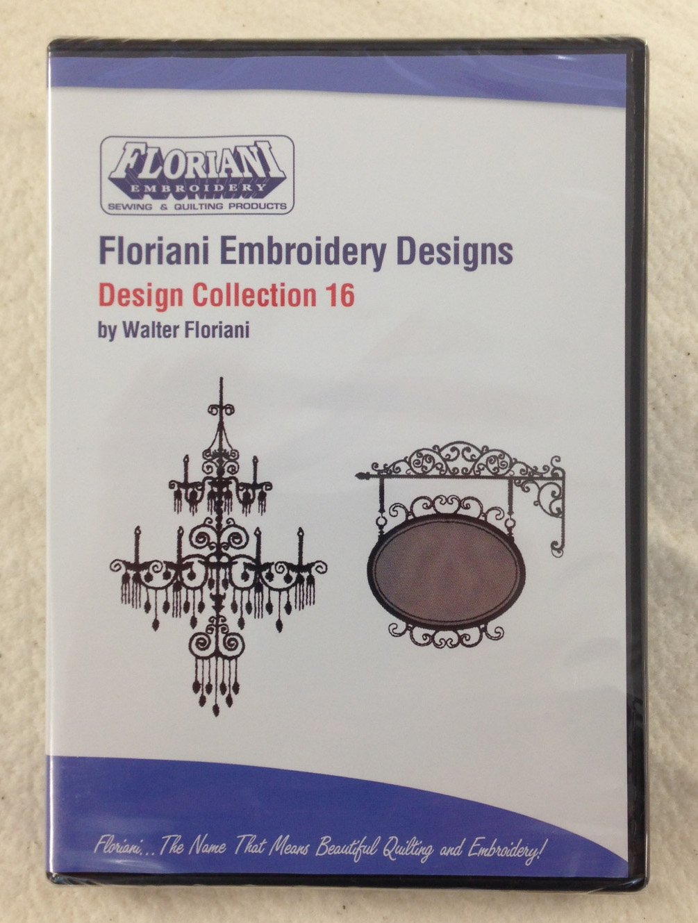 Floriani - Embroidery Design Collection 16 CD