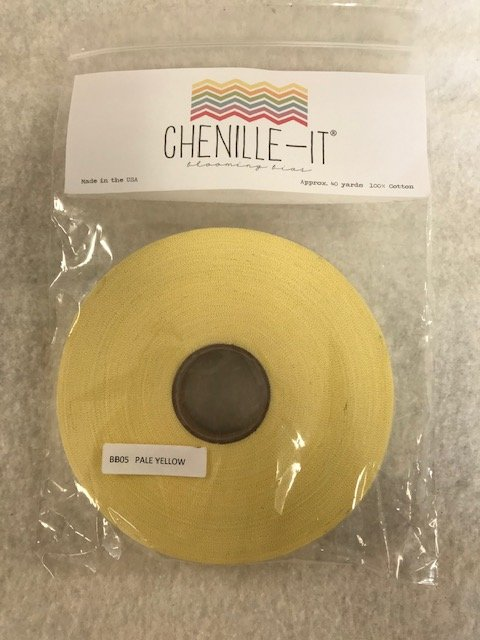 Chenille-It Blooming Bias 5/8 - Pale Yellow