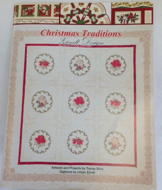 Christmas Traditions Book & Embroidery CD