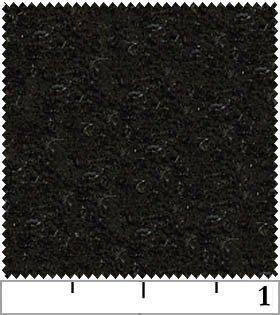 Classic Soft Felt - Black.  72