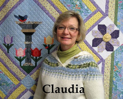 Claudia Williams is the owner of Patchwork Quilts in Hamilton, Montana.