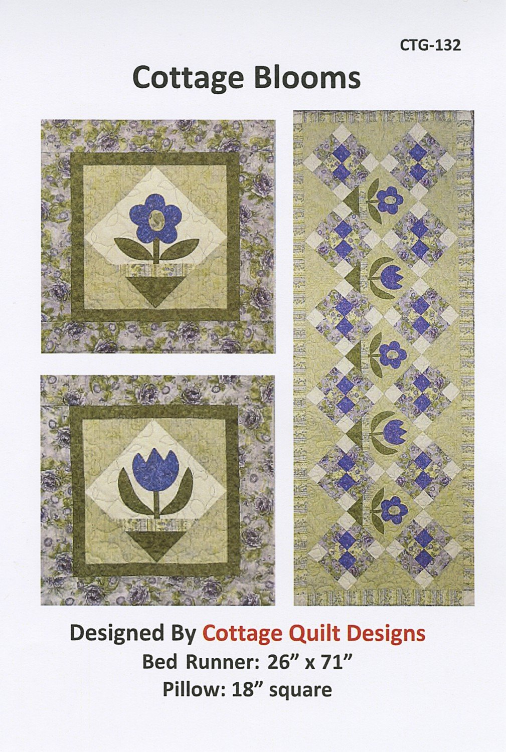 Cottage Blooms Pattern